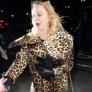 Courtney Love – Arrives at Jeremy Scott's fashion Show in New York