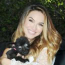 Chrishell Stause at Daytime for Dogs in Los Angeles