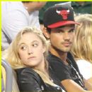 Taylor Lautner and Maika Monroe - 300 x 300