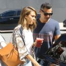 Jessica Alba Street Style – Out in Hollywood, September 2015