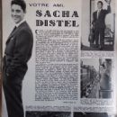 Sacha Distel - Festival Magazine Pictorial [France] (14 November 1961) - 454 x 616
