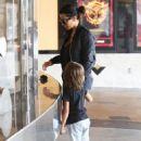 Kim Kardashian Going To A Movie Theater In Calabasas