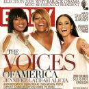 Alicia Keys - Ebony Magazine Scans, October 2008
