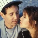 Carrie Fisher and Paul Simon - 454 x 665