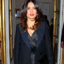Salma Hayek at the Giambattista Valli Fashion Show in Paris