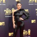 Francia Raisa – MTV Movie and TV Awards 2018 in Santa Monica - 454 x 655