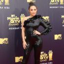 Francia Raisa – MTV Movie and TV Awards 2018 in Santa Monica