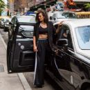 Nina Dobrev on a Donna Karan Photoshoot in New York City May 24, 2017