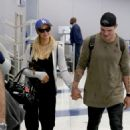 Paris Hilton With Boyfriend at LAX Airport in LA