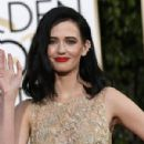 Eva Green at The 73rd Golden Globe Awards - Arrivals (2016) - 300 x 420