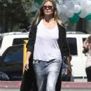 Heidi Klum in Jeans – Out in Beverly Hills