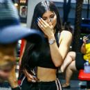 Kylie Jenner–Out and about in Miami - 454 x 717