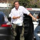 Val Kilmer Stopping By A Wells Fargo Bank In Malibu