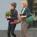 Kristin Kreuk and Allison Mack – Shopping in Vancouver - 454 x 618