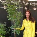 Rachel de Thame with a tree