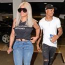 Blac Chyna and Mechie out in Los Angeles, California - August 29, 2017 - 454 x 706