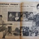 Christian Pezey - Festival Magazine Pictorial [France] (20 June 1961) - 454 x 321