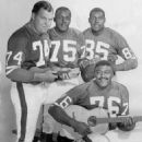 The L. A. Rams Fearsome Foursome - 454 x 519