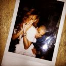 Chris Brown and Rihanna celebrating her 25th Birthday February 20, 2013