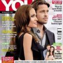Angelina Jolie, Brad Pitt - You Magazine Cover [South Africa] (26 January 2012)