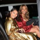 Vanessa White and Munroe Bergdorf – Leaving Pat McGrath Party in London - 454 x 442