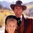 Debbie Reynolds and Gregory Peck