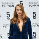 Cara Delevingne Topshop Topman Flagship Store Grand Opening In Nyc