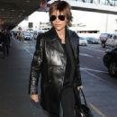 Lisa Rinna – Arriving at LAX Airport in Los Angeles - 454 x 681
