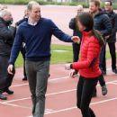 Prince William, Duchess Catherine and Harry visited London Marathon Day - 448 x 600