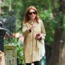 Julianne Moore – Out in the West Village - 454 x 681