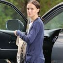 Natalie Portman At The Hotel Normandie In La