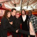 Dave Grohl, Elton John, Steven Tyler, Jim Carey and Randy Jackson attend the 21st annual Elton John Aids Foundation on February 24, 2013