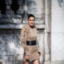 Camila Coelho – Balmain Fashion Show in Paris - 454 x 681