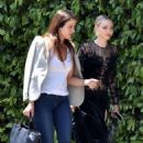 Amanda Seyfried – Heading to a friends house in Beverly Hills
