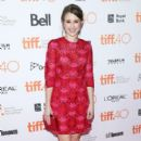 "Actress Taissa Farmiga attends the ""Final Girls"" photo call during the 2015 Toronto International Film Festival at the Ryerson Theatre on September 19, 2015 in Toronto, Canada"