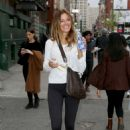 Kelly Bensimon – Leaves the gym in New York - 454 x 681