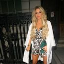 Bianca Gascoigne Cherry Edit Launch Party In London