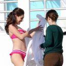 Kelly Brook- Filming Bikini shoot Hollywood Hills - 2 Febuary 2011