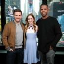 Britt Robertson at Extra Studios in New York City - 454 x 303