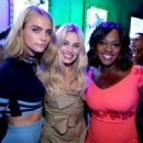 Cara Delevingne, Margot Robbie, Viola Davis - July 23, 2016- The Samsung Experience at San Diego Comic-Con - Day 3 - 454 x 327