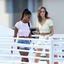 Jasmine Tookes and Josephine Skriver – Photoshoot in Miami - 454 x 593