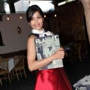 Freida Pinto at the Flaunt magazine dinner 2012