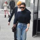 Victoria Beckham in Jeans out in New York City - 454 x 703