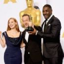 Idris Elba-February 22, 2015-87th Annual Academy Awards Press Room