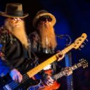 Dusty Hill and Billy Gibbons of ZZ Top perform onstage during day two of 2015 Stagecoach, California's Country Music Festival, at The Empire Polo Club on April 25, 2015 in Indio, California.