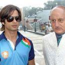 "Shahid Kapoor & Anupam Kher in Amritsar  - ""Dil Bole Hadippa"" shoots"