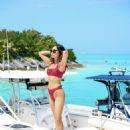 Aimee Song in Bikini – Revolve Summer Event in Bermuda - 454 x 681