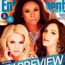 Jennifer Hudson, Megan Hilty, Katharine McPhee - Entertainment Weekly Magazine Cover [United States] (11 January 2013)