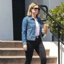Ashley Benson Out For Coffee in LA