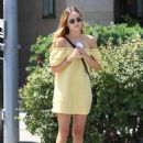Zoey Deutch – Outside a Nail Salon in Beverly Hills 8/24/2016